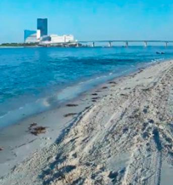 Cierran dos horas una playa de Nueva Jersey por falsa amenaza de bomba