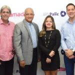 Paul Martinez,Radalme Peña, Natacha Quiterio yRaul Abreu.