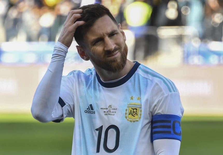 Conmebol suspende a Messi por tres meses y lo multa con 50.000 dólares