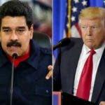 Maduro y Trump.