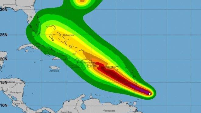 Cortes de electricidad y fuertes lluvias en las Antillas Menores por el paso de Dorian
