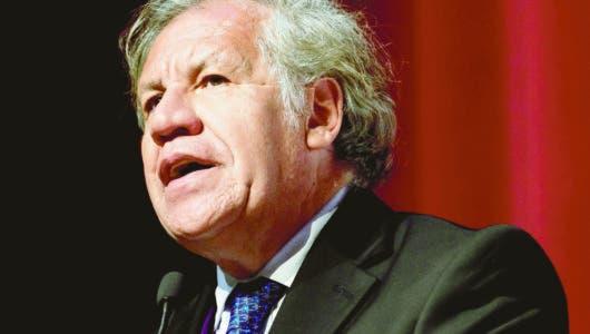 Almagro: Corrupción, descrédito de políticos merman democracia AL