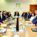 Mision del FMI se reune con gobernador Banco Central Hector Valdez A.  Hoy/Fuente Externa