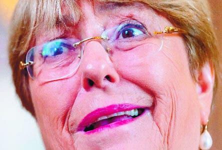 Bachelet asegura que sanciones internacionales a Venezuela podrían aumentar la migración