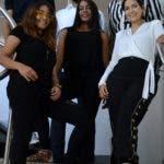 Esquina Joven semanal del Periódico Hoy, con el diseñador de modas Carlos de Moya y estudiantes de diseño de moda, durante una visita a la redacción del periódico Hoy/ Napoleón Marte 22/08/2019