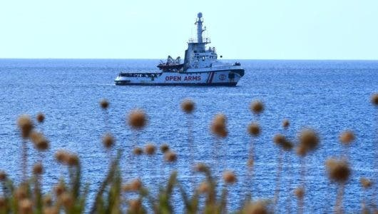 Open Arms se declara en estado de necesidad y no garantiza la seguridad de los tripulantes
