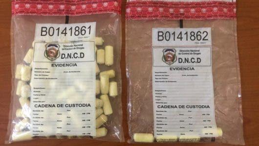 Mujer pretendía salir de RD hacia Italia con 71 bolsitas de cocaína en el estómago