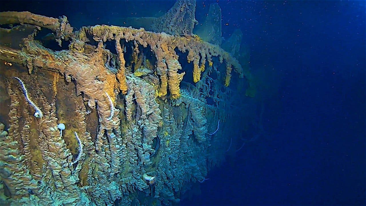 Fotografían los restos de Titanic por primera vez en catorce años