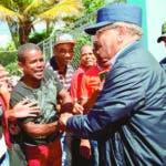Presidente Medina apoya productores de San Juan y Azua. Fuente Externa.
