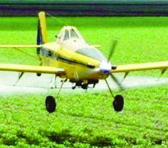 Campaña para proteger a los pilotos agrícolas