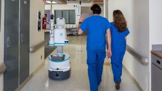 El robot que ayuda a las enfermeras