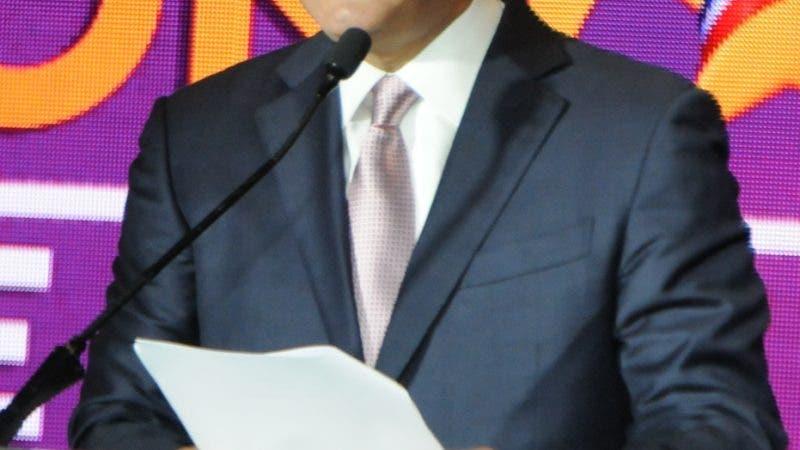 Ministro de obras publicas, Gonzalo Castillo lanza su pre candidatura a la presidencia por el PLD y anuncio su renuncia. 31-7-19 Foto: Jose Adames Arias