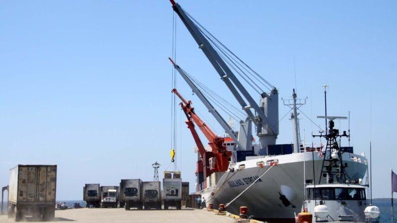 Puerto de Manzanillo. El Nacional/ Fuente Externa