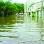 Santiago. Inundaciones.
