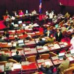 Presentes en la sesion ordinario de la Cámara de Diputados. Hoy/ Rafael Segura Imagen Digital/ 15/12/009