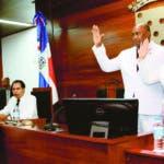 Juramentacion Pte consejo de regidores en Santiago. 16/08/2019 Foto Wilson Aracena