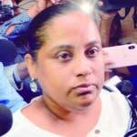 exfiscal de Villa Vásquez, Carmen Lisset Núñez, es interroga por la Insectoría General del Ministerio Público, por supuestamente participó de un allanamiento en el que se colocó drogas en una peluquería de Villa Vásquez, Montecristi. En la Procedería de la Rep. En Santo Domingo Rep. Dominicana. 9 de agosto de 2019. Foto Pedro Sosa