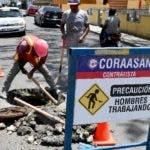 La Corporación del Acueducto  y Alcantarillado de Santiago (CORAASAN) inició el levantamiento de 500 registros de aguas residuales que debido al reasfaltado de la ciudad han quedado por debajo del nivel.21/08/19 Fuente Externa