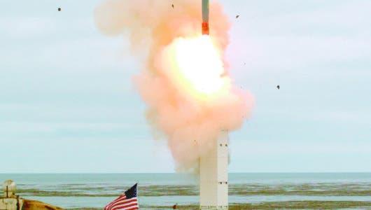 EEUU prueba un misil estuvo prohibido por más 30 años