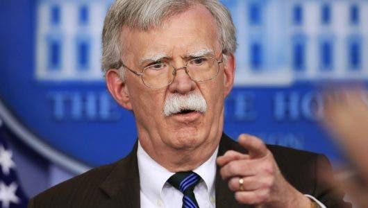 Bolton: Lo único que EEUU discute es salida Maduro