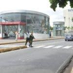 Falta de seguridad en estaciones de metro para cruzar las vías de tránsito entre ellas están las están las estaciones , Concepción Bona, Rosa Duarte, Rafael Thomas Fernández Domínguez, Hoy/ Arlenis Castillo/15/08/19.
