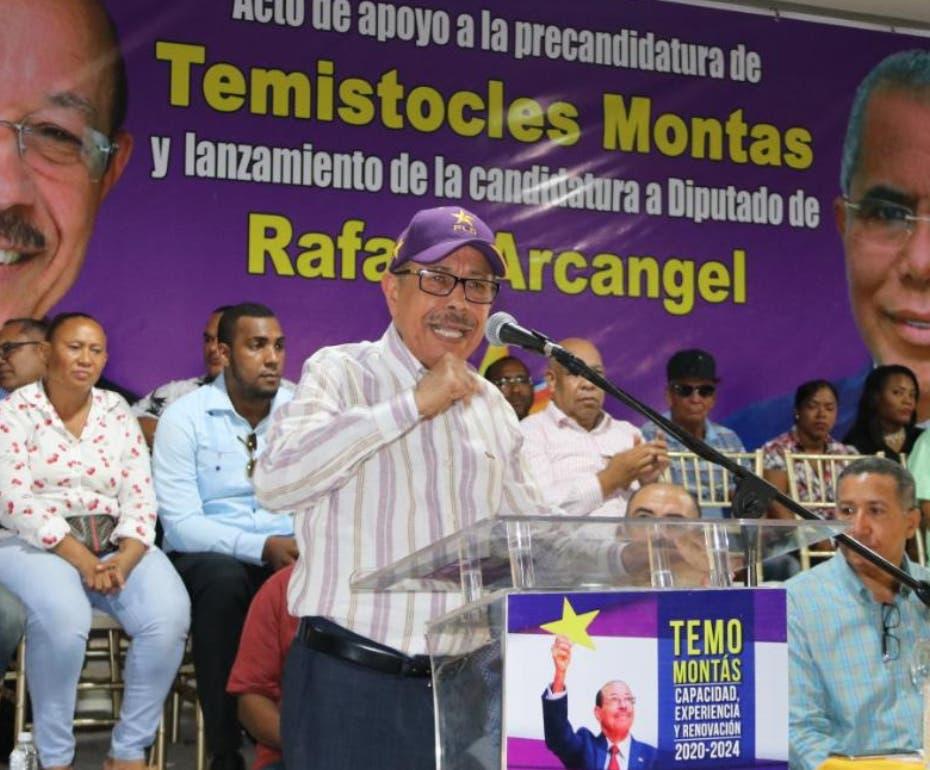 Temístocles Montás advierte PLD se opondrá a candidatura de Leonel Fernández