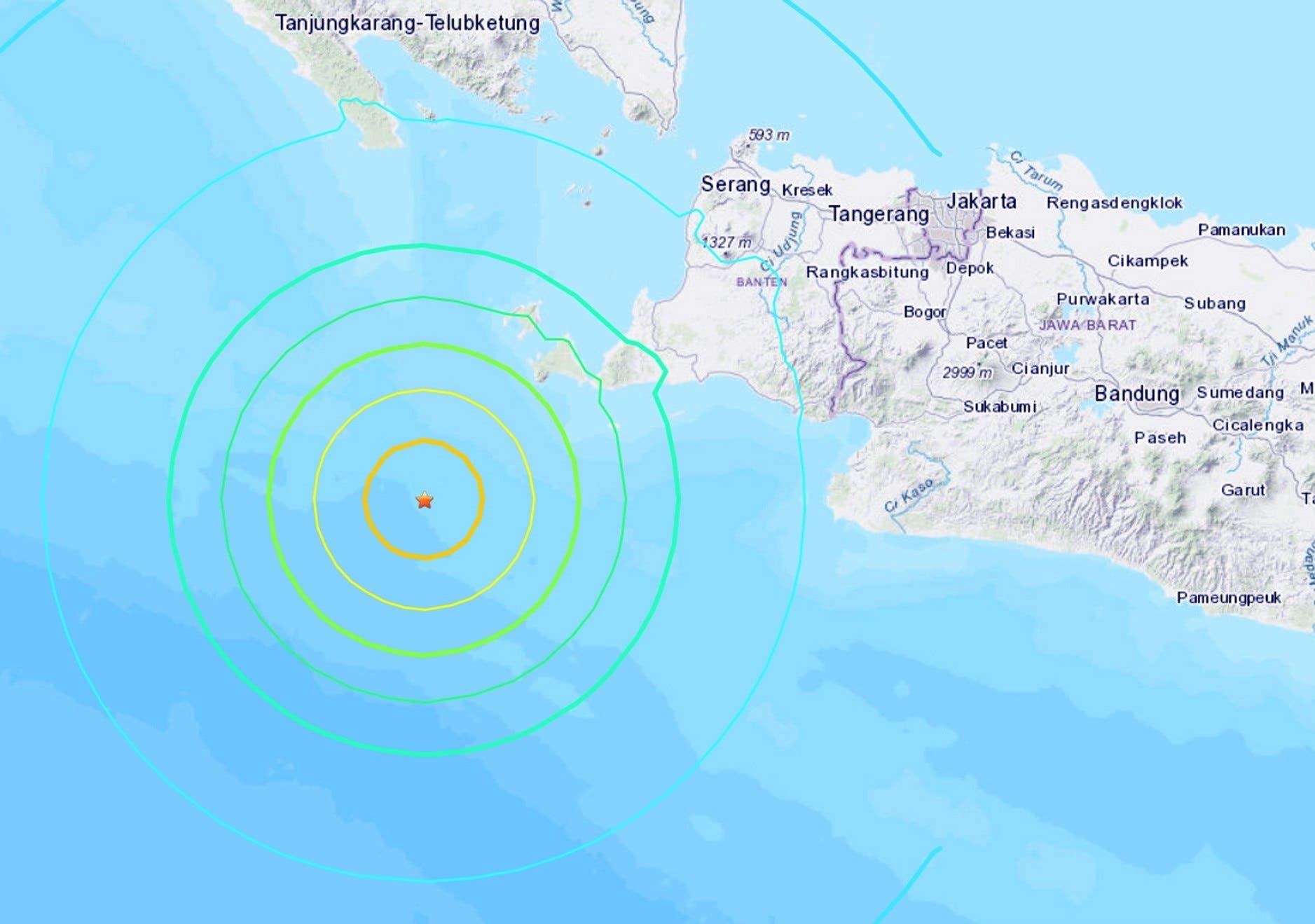 Video: Alerta de tsunami en Indonesia tras terremoto de magnitud 7,4