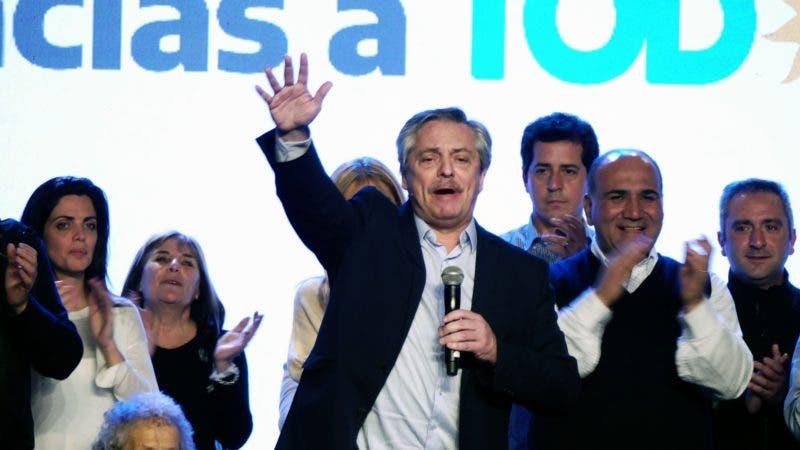 """Alberto Fernández: """"Hoy los argentinos empezamos a construir otra historia"""""""