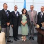 Encuentro con subsecretaria general de las Naciones Unidas