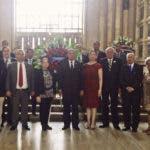 Foto 3, Directivos del Instituto Duartiano en el Panteón Nacional.