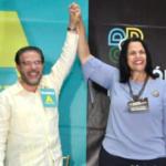 Guillermo Moreno y Minou Tavarez