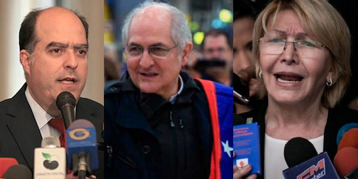 ¿Te acuerdas de la ex fiscal  Luisa Ortega Díaz, Julio Borges y Antonio Ledesma? Aquí la decisión en su contra en Venezuela