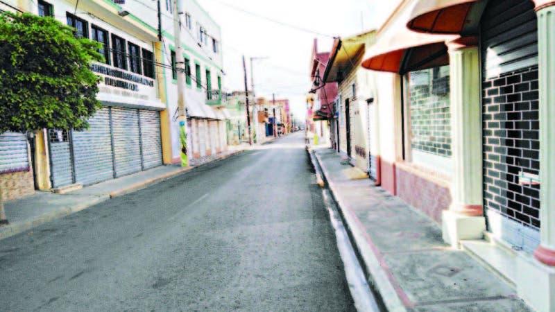 Las principales actividades de la ciudad estaban paralizadas en San Francisco de Macorís