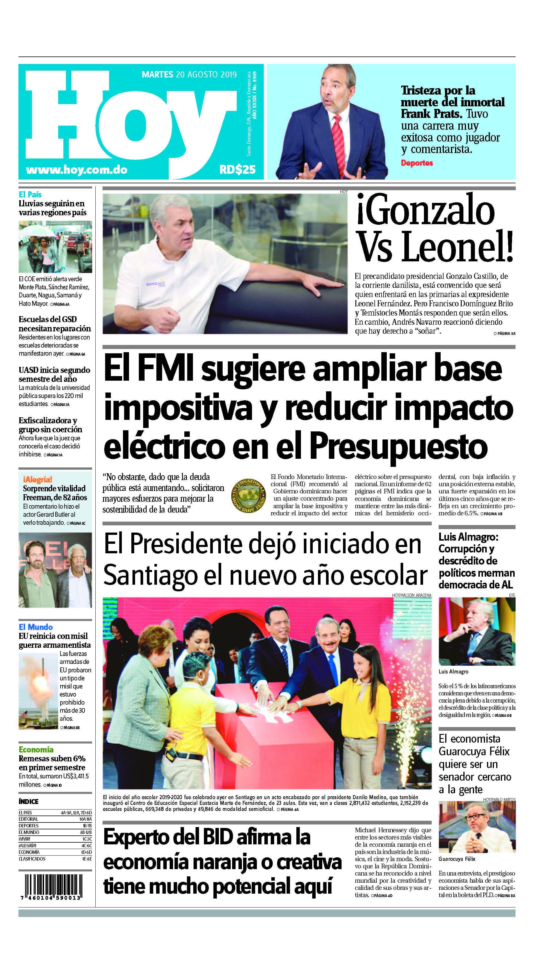Pages from Edición impresa HOY martes 20 de agosto del 2019