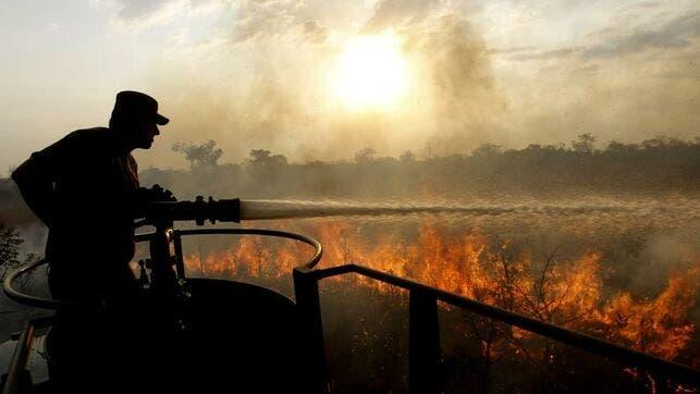 La Amazonía está en llamas y Bolsonaro insinúa que la culpa es de las ONG