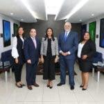 Vitelio Mejía Ortiz, Lucy Objío, Félix Fernández, Sheila Oviedo y Yolemny Cruz