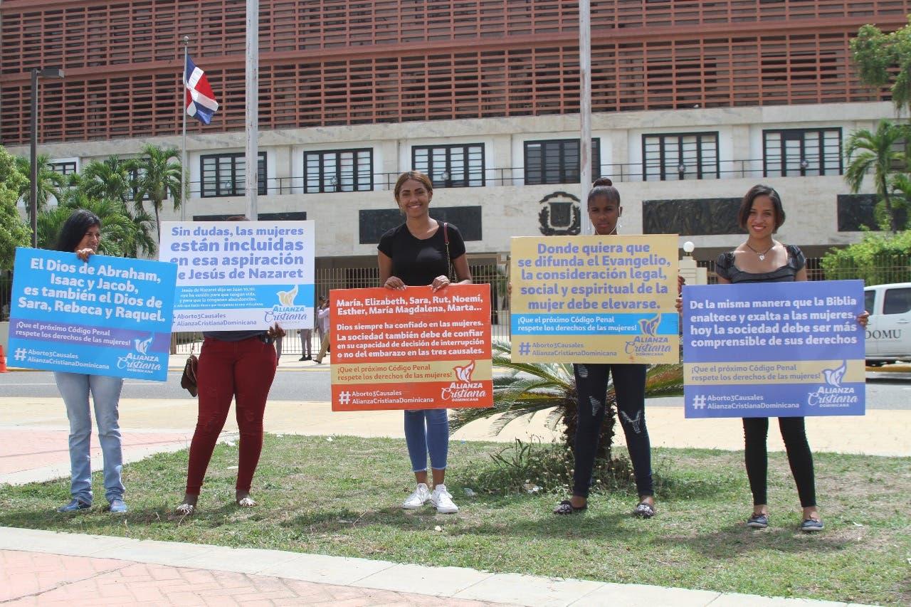 Alianza Cristiana Dominicana recuerda importancia de las tres causales