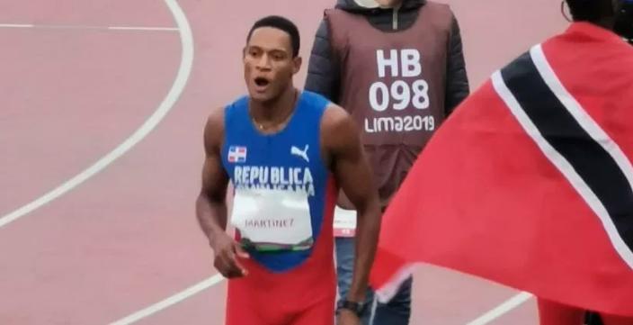 El dominicano Yancarlos Martínez logra bronce en atletismo