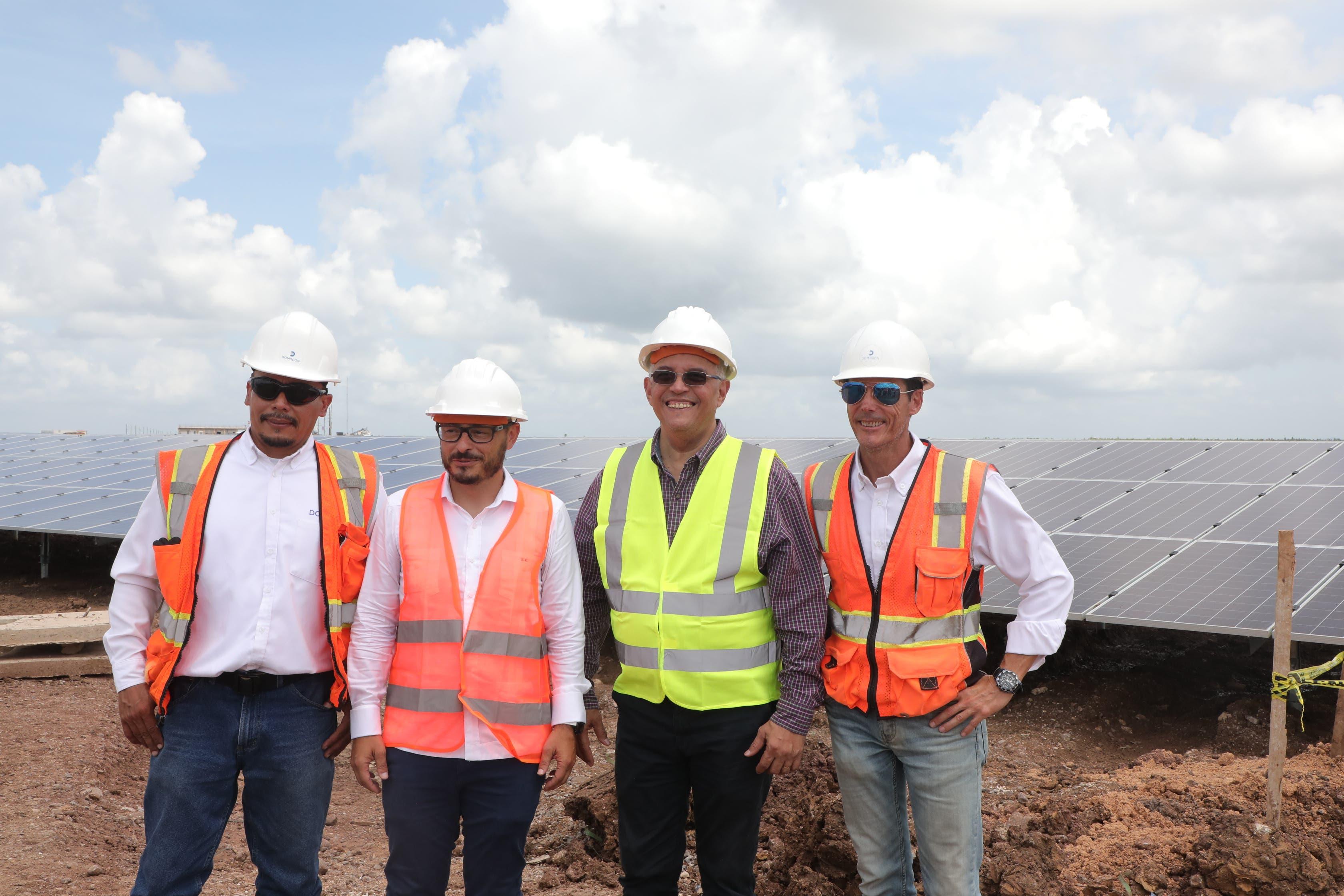 Inaugurarán parque energía solar  en Mata de Palma con inversión de US$75 millones