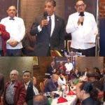 Prestigiosos líderes dominicanos con Ramón Mercedes