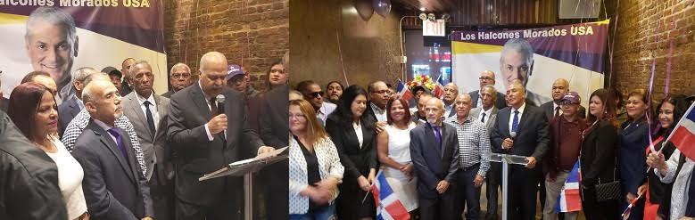 Dirigentes del PLD en Nueva York forman movimiento político en apoyo a Gonzalo Castillo