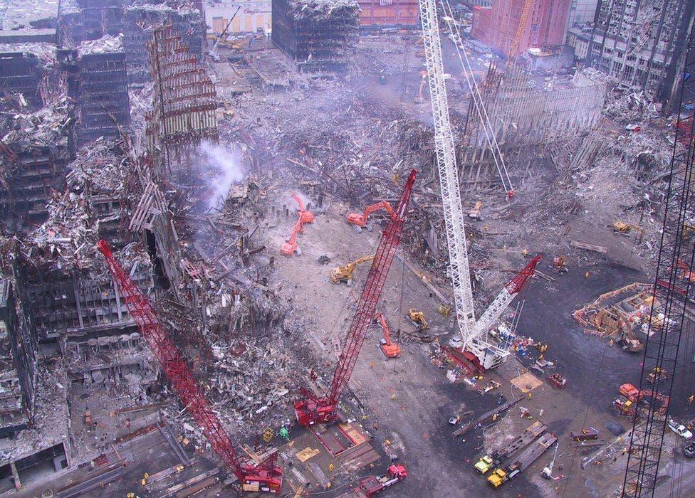 Atentados terroristas del 11-S: las fotos inéditas encontradas en un viejo CD