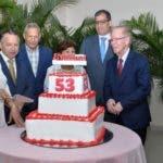 El Periódico el Nacional ,celebro hoy los 53 aniversario , donde el Señor Bolívar Días agradeció a todo el personal. Hoy/ Arlenis Castillo/11/09/19
