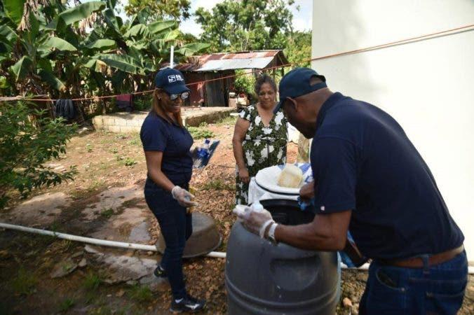 3. Personal SNS estuvo este fin de semana en las calles para prevenir dengue. Fuente externa 01/09/2019