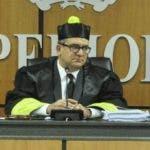 El pais.El juez presidente del Tribunal Superior Electoral (TSE), magistrado, Román Jáquez Liranzo, encabezó juicio preliminar contra el PRM.Hoy/Pablo Matos 12-09-2019