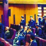 Pleno de la Suprema corte aplaza conocimiento de medida a imputados del caso ODEBRETCH. 19-9-19 Foto: Jose Adames Arias.