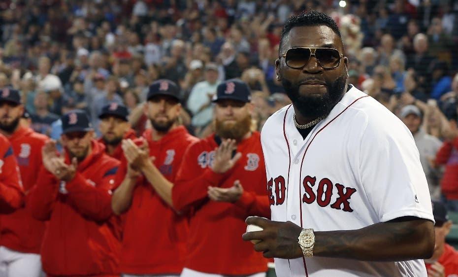 """David Ortiz : """"Gracias familia de Boston"""""""
