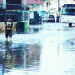 Bonao afectado de lluvias.