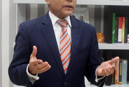 Entrevista al director de INFOTEP sobre el proyecto de Estudio de competencia laboral y la necesidad empresarial que demanda el país. En foto Rafael Ovalle director. HOY Duany Nuñez 30-8-2019