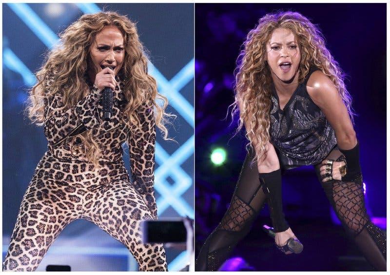 JLo y Shakirasubirán la temperaturadurante el medio tiempo del Super Bowl 2020